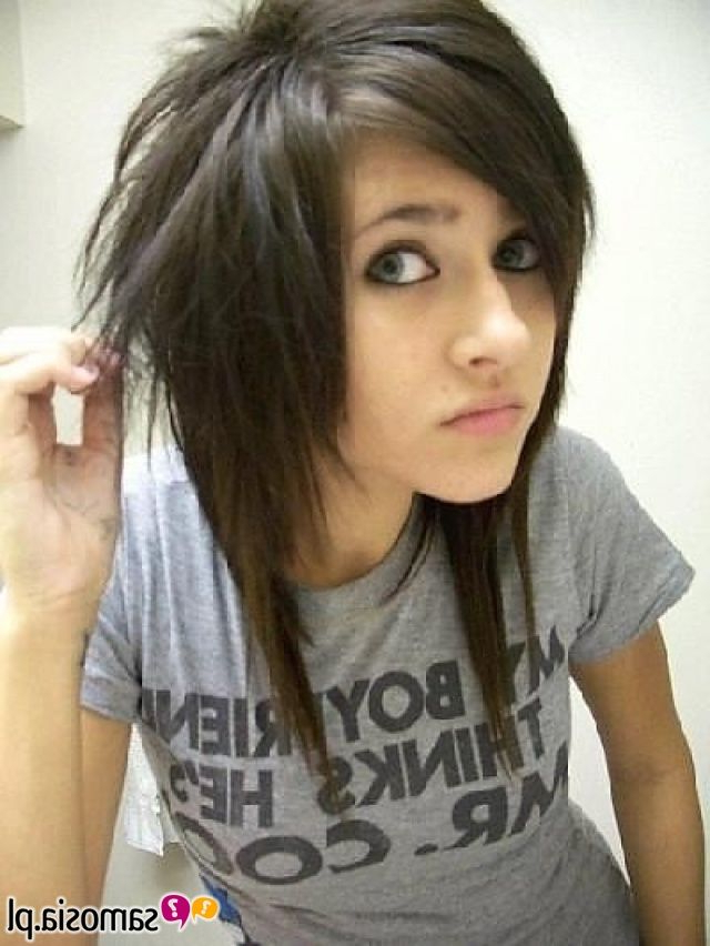 """Miss My """"emo"""" Haircut. (View 12 of 25)"""