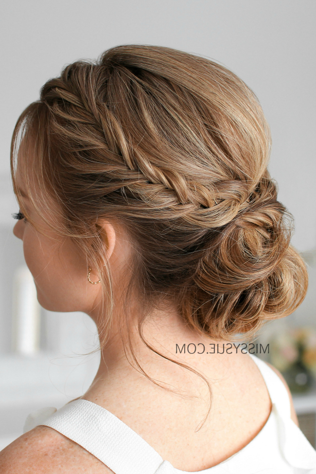 Missy Sue   Beauty & Style Inside Bun And Three Side Braids Prom Updos (View 2 of 25)