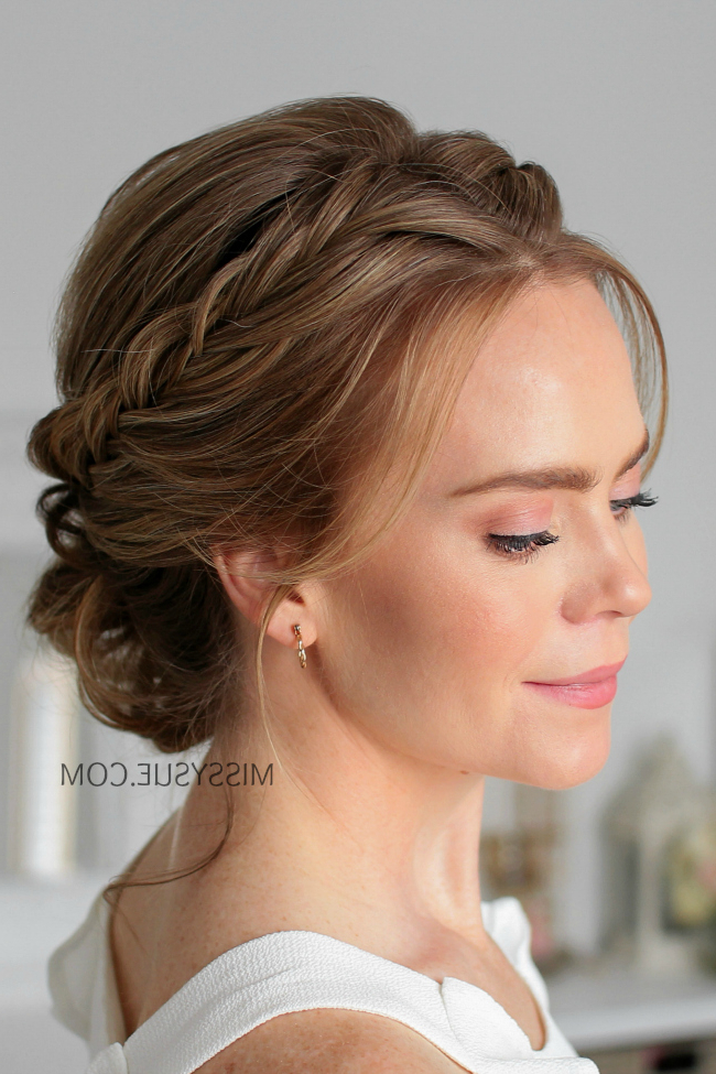 Missy Sue | Beauty & Style Intended For Textured Side Braid And Ponytail Prom Hairstyles (View 24 of 25)
