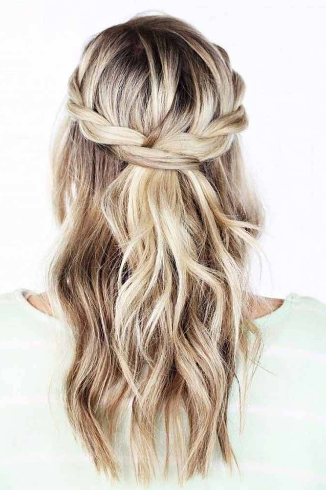 Most Charming Bridesmaid Hairstyles For Long Hair | Bridesmaids With Regard To Long Hairstyles Bridesmaids (View 6 of 25)