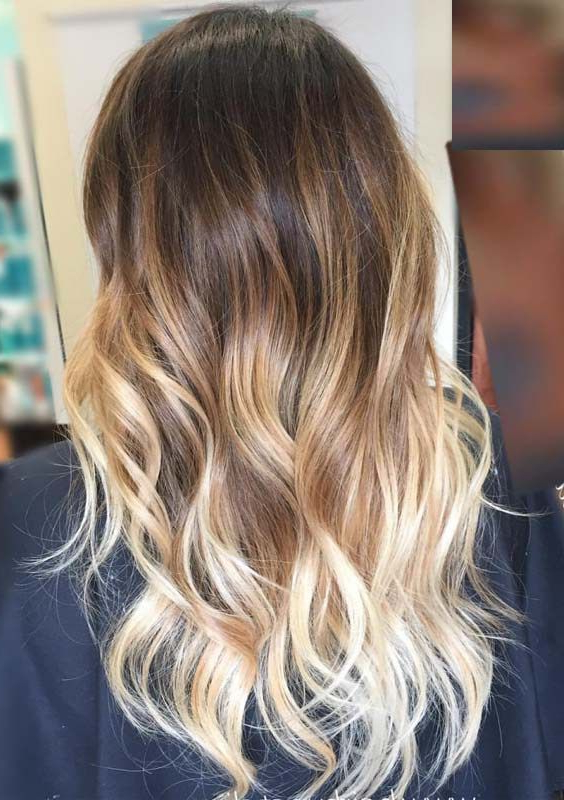 Most Of The Women Love To Sport Long Wavy Ombre Hairstyles Because Within Long Hairstyles Ombre (View 2 of 25)