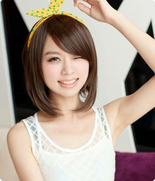Most Popular Asian Hairstyles For Short Hair – Popular Haircuts With Long Hairstyles For Asian Women (View 16 of 25)