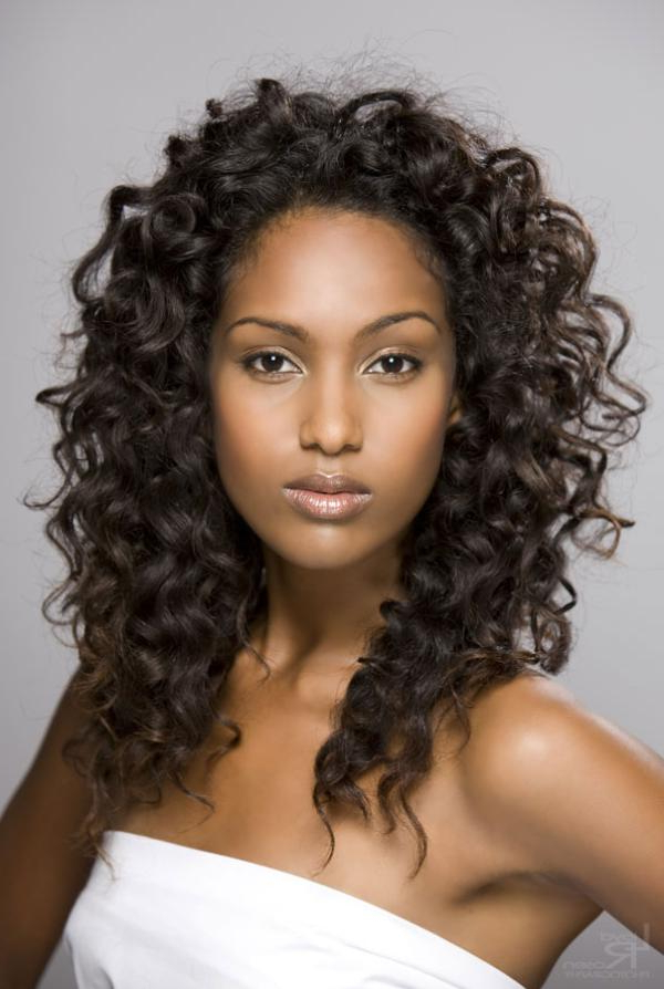 Natural Hairstyles For Black Women Pictures – 354 Great Collections Inside Curly Long Hairstyles For Black Women (View 12 of 25)