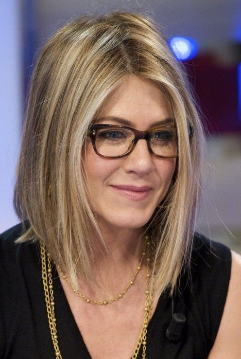 Neck Length Bob Haircut – Jennifer Aniston's Hairstyles – Popular Throughout Neck Long Hairstyles (View 8 of 25)