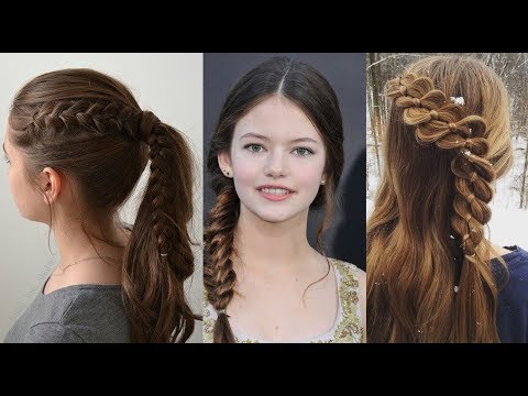 New Cute Hairstyles For Teenage Girls 2017 – Youtube For Long Hairstyles For Young Girls (View 4 of 25)