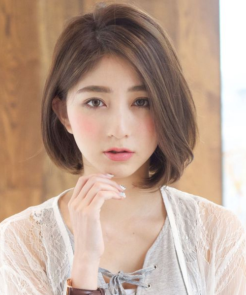 New Cute Short Bob Hairstyles 2018 For Japanese And Korean Girls intended for Long Bob Hairstyles Korean