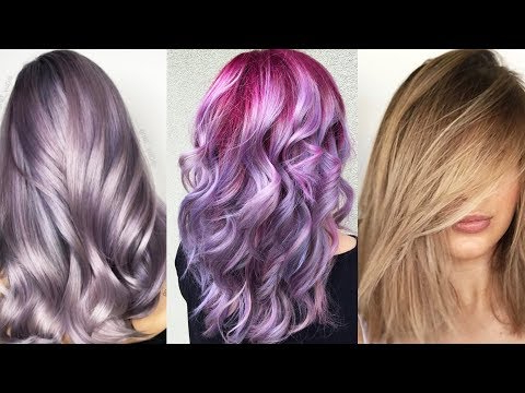 New Hair Color & Best Hairstyles Tutorial 2017 Best And Easy intended for Long Hairstyles Dyed