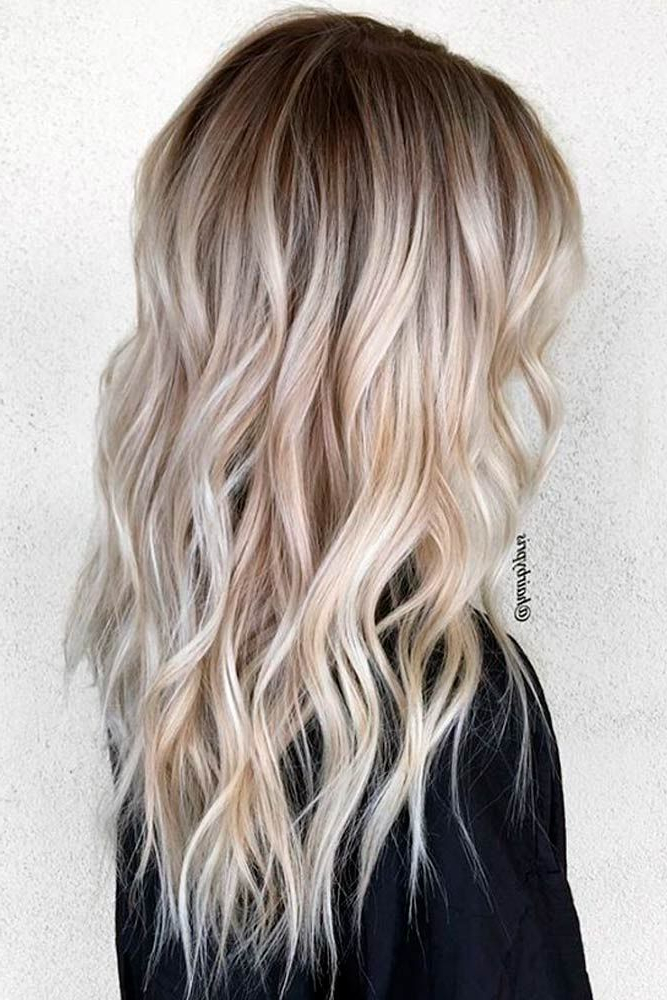 New Hair Ombre Ideas To Diversify Classic Brown And Blonde Ombre within Long Blonde Hair Colors