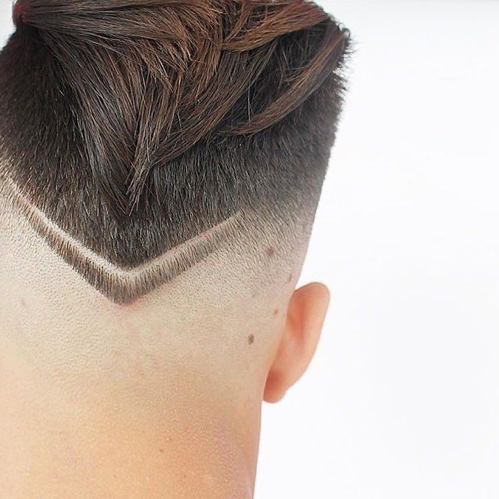 New Hairstyles For Men: The V-Shaped Neckline with regard to Long Hairstyles V In Back