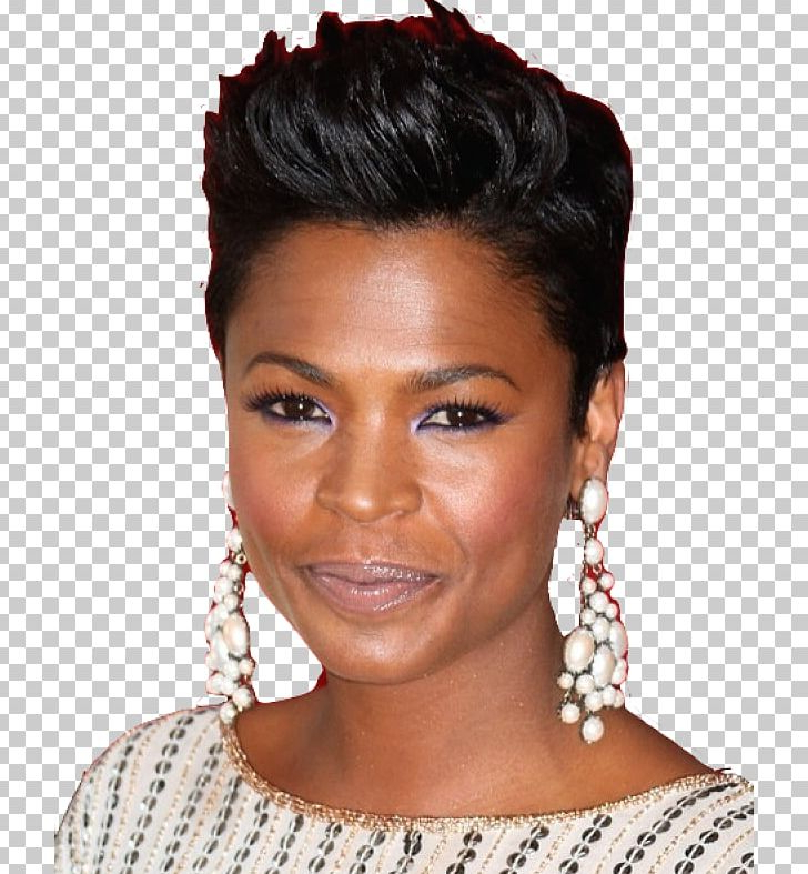 Nia Long Hairstyle Short Hair Pixie Cut Cosmetics Png, Clipart Intended For Nia Long Hairstyles (View 25 of 25)