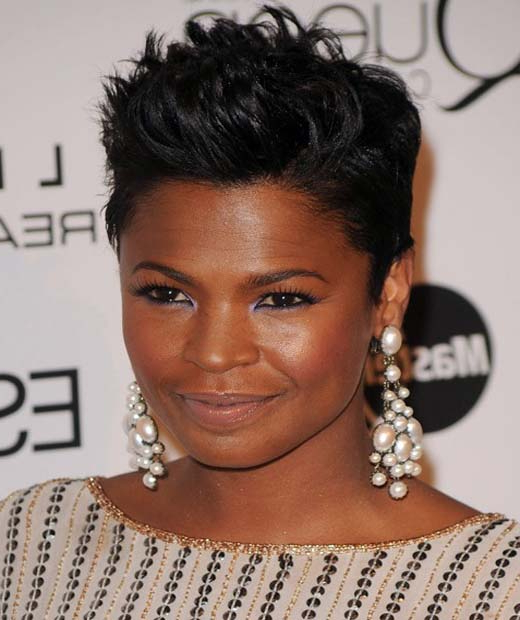 Nia Long Short Hairstyles within Nia Long Hairstyles