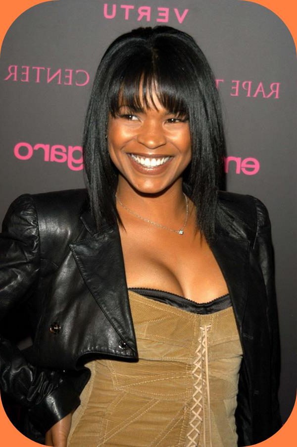 Nia Medium To Long Hairstyles – The Impressive Nia Long Hairstyles Pertaining To Nia Long Hairstyles (View 13 of 25)