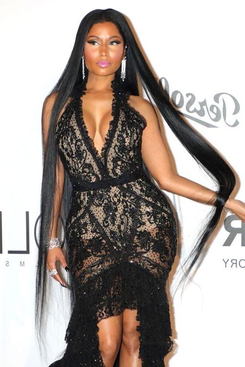 Nicki Minaj's Hairstyles & Hair Colors | Steal Her Style within Nicki Minaj Long Hairstyles