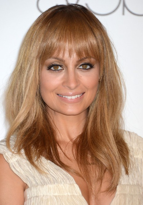 Nicole Richie Long, Straight Hairstyle For Fine Hair – Popular Haircuts In Long Hairstyles Straight Fine Hair (View 21 of 25)