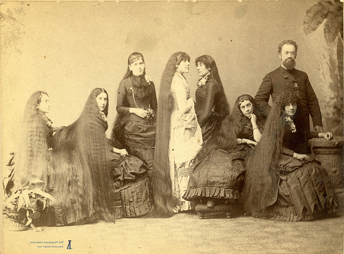Old-Fashioned At Heart: Long Hair .. regarding Long Victorian Hairstyles
