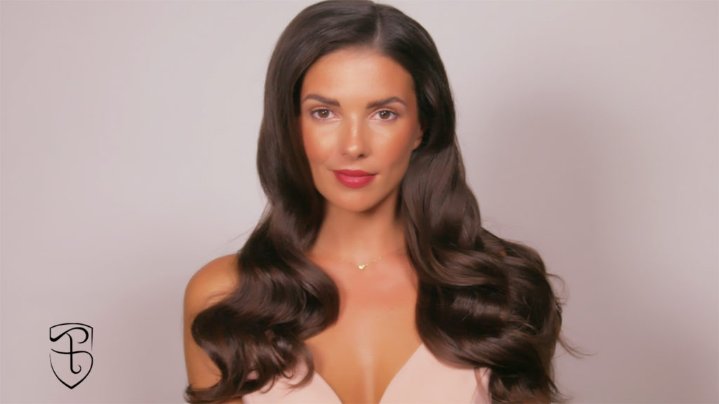 Old Hollywood Glam Hair Tutorial | Fashionisers© Pertaining To Old Hollywood Long Hairstyles (View 16 of 25)
