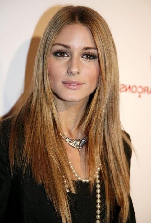Olivia Palermo Haircut: Long Straight Hair – Popular Haircuts Regarding Long Hairstyles Straight (View 15 of 25)