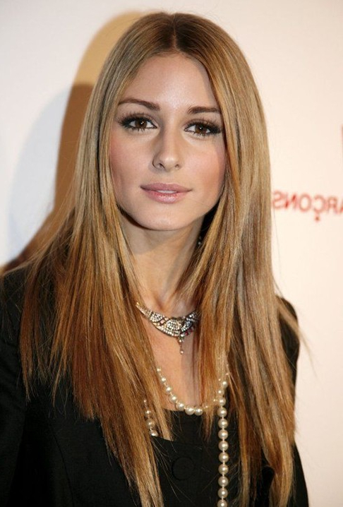 Olivia Palermo Haircut: Long Straight Hair - Popular Haircuts throughout Long Hairstyles For Straight Hair