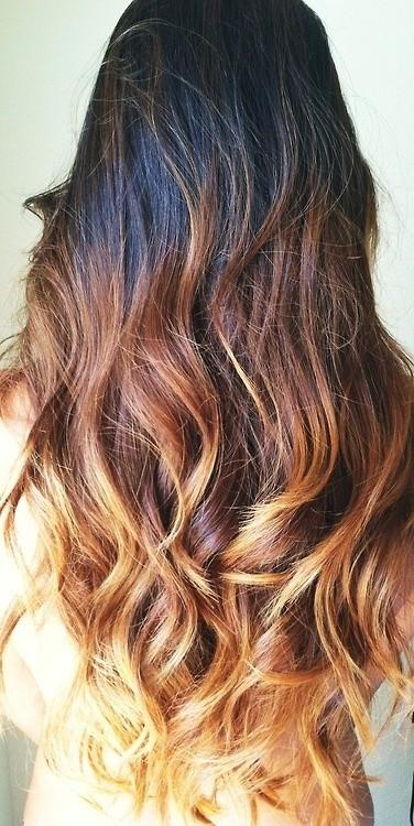 Ombre Ombre Hair – Long Hairstyles How To Inside Ombre Long Hairstyles (View 20 of 25)