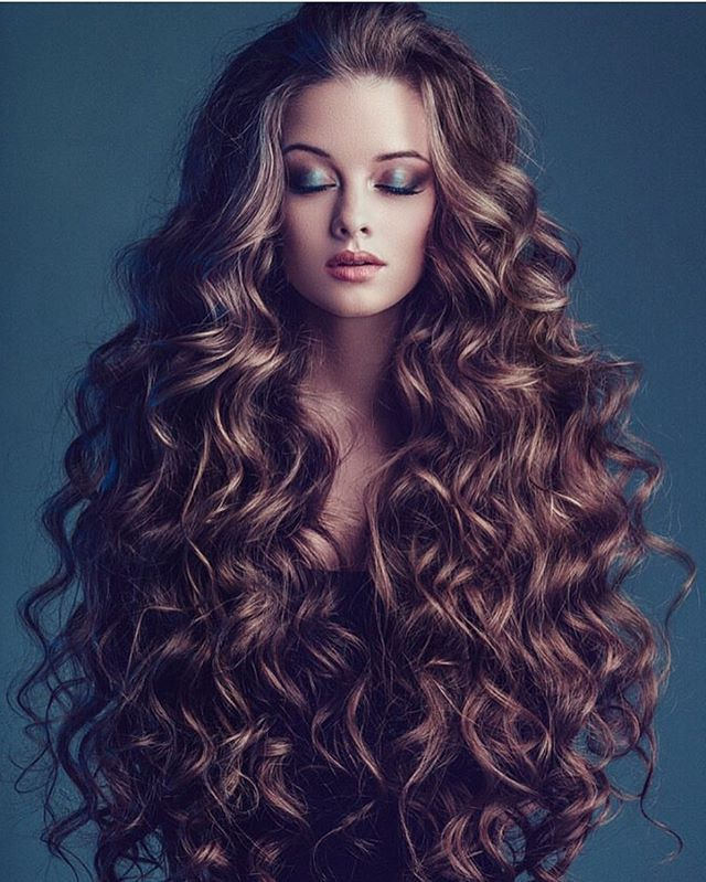 Omg Look At This Amazing Curly Hair Photograph@maria_Zhgenti pertaining to Curly Long Hairstyles