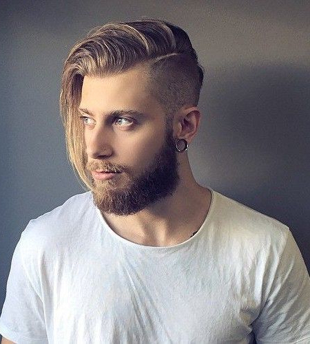 One Side Long Hairstyle For Man And Edgy Undercut Male Hairstyles in One Side Long Hairstyles