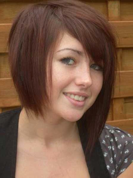 One Side Long Hairstyles Unique Cute Short Hair Ideas Hair – Popular with regard to One Side Long Hairstyles