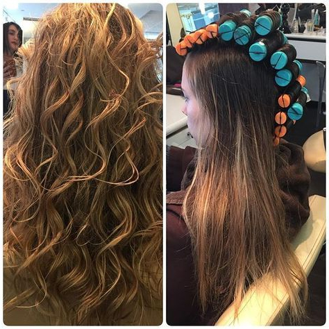 Our Client Is Summer Ready With This Beautiful Beachy Waves Perm Pertaining To Winding Waves Hairstyles (View 7 of 25)