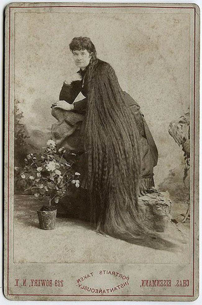 Outrageously Long Hair Of The Victorian Era Will Make You Gasp With Long Victorian Hairstyles (View 8 of 25)
