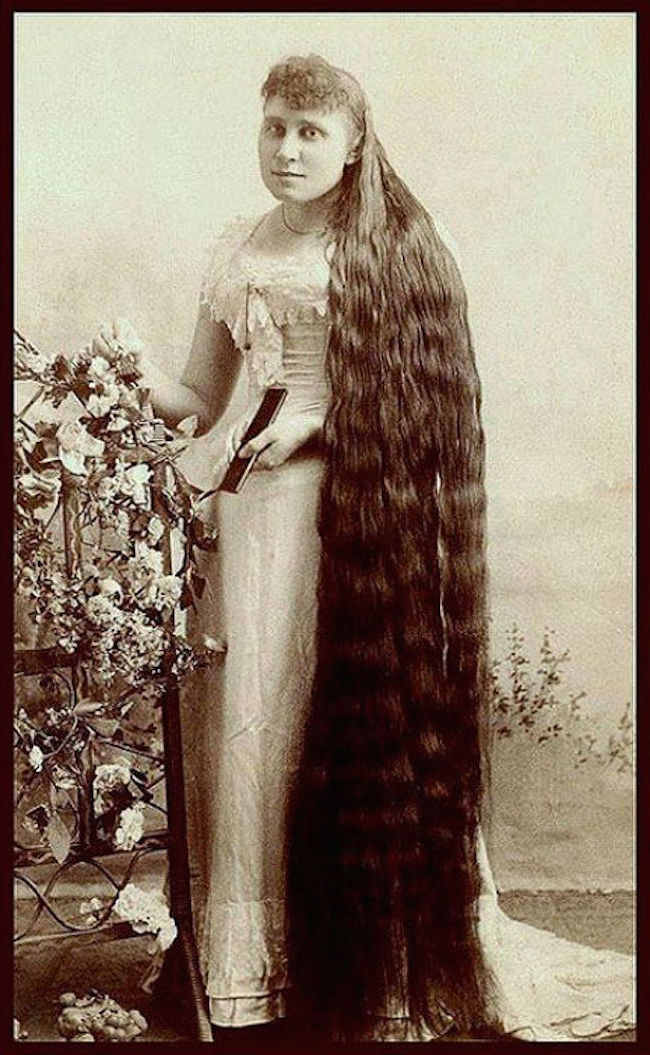 Outrageously Long Hair Of The Victorian Era Will Make You Gasp within Long Victorian Hairstyles