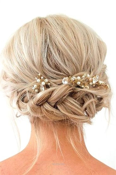 Outstanding Gorgeous Braided Prom Hairstyles For Short Hair Picture Inside Braid Spikelet Prom Hairstyles (View 8 of 25)