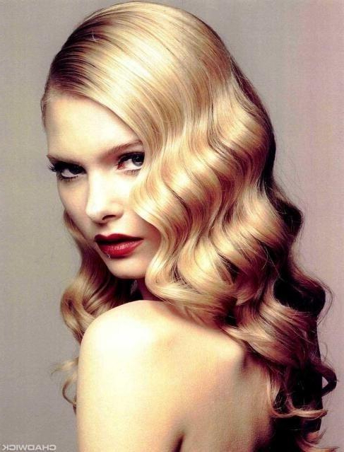 Party Glamour Hairstyle – Long Hairstyles How To Intended For Long Hairstyles Glamour (View 7 of 25)