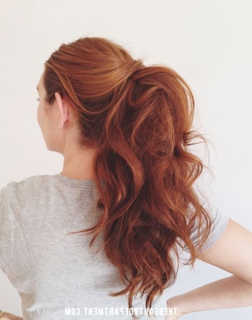 Perfect Ponytail – Popular Haircuts Intended For Ponytail Layered Long Hairstyles (View 4 of 25)