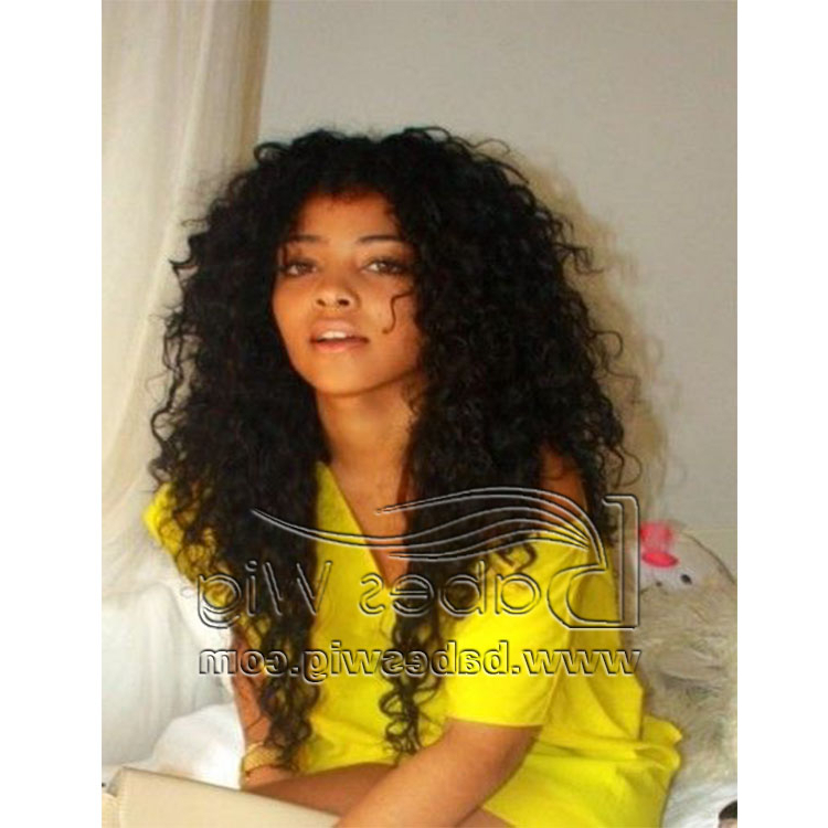 Perfect Remy Human Hair 13*6Lace Front Wigs For Black Women Long Regarding Long Virgin Hairstyles (View 15 of 25)