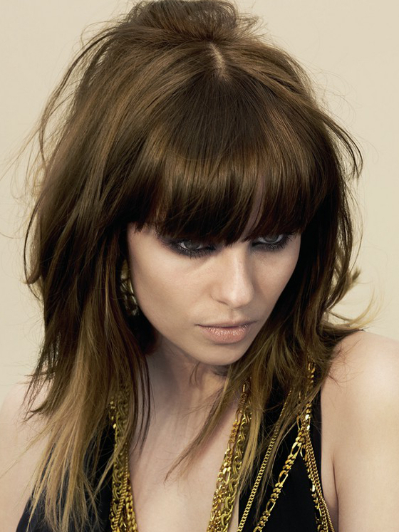 Pictures : Best Hairstyles For Fine Thin Hair With Bangs – Long Pertaining To Long Layered Fine Hair (View 15 of 25)