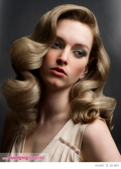 Pictures : Long Hairstyles – Long Vintage Curls Hair Style| Regarding Long Hair Vintage Styles (View 12 of 25)