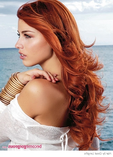 Pictures : Long Hairstyles – Super Long Red Hair Style| With Long Hairstyles Red Hair (View 16 of 25)