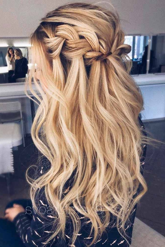 Featured Photo of Long Hairstyles Down For Prom