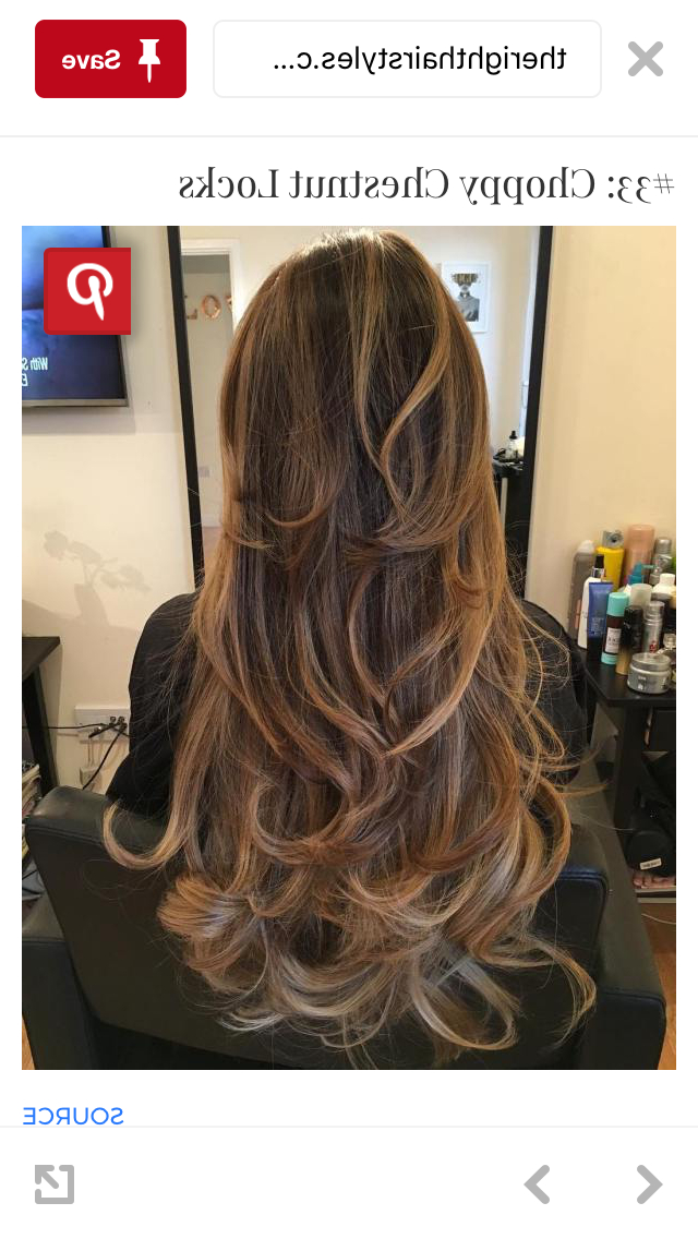 Pinjulia Bernard On Hair | Long Hair Styles, Hair Styles, Long With Choppy Chestnut Locks For Long Hairstyles (View 8 of 25)