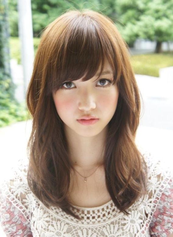 Pinniquita ? On Hair – Long | Pinterest Regarding Long Layered Hairstyles Korean (View 19 of 25)
