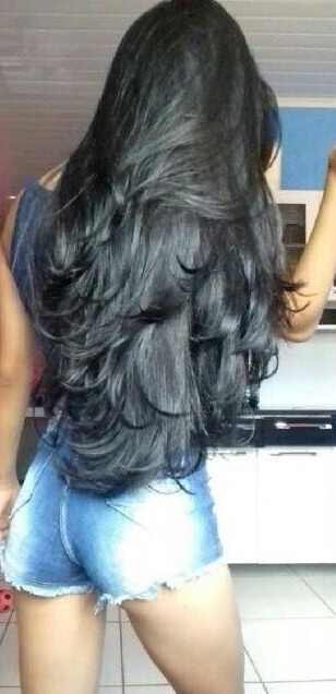 Pinterest: Msheatherette26 | Hair Inspiration In 2019 | Hair Cuts With Long Layered Black Haircuts (View 19 of 25)