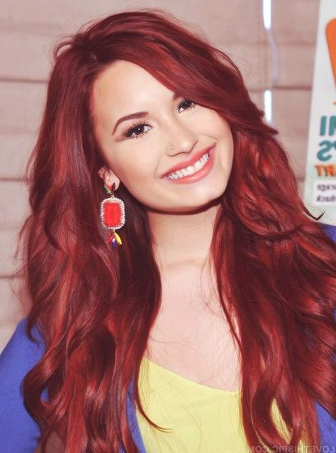 Pinterest With Demi Lovato Long Hairstyles (View 17 of 25)