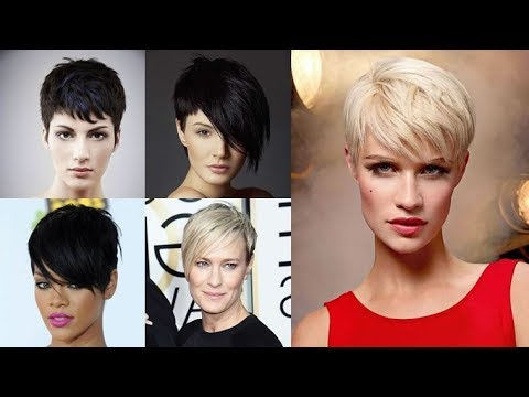 Pixie Hair Cut Fine Hair For Long Face 2017 – 2018 – Youtube With Long Hairstyles For Long Faces And Fine Hair (View 19 of 25)