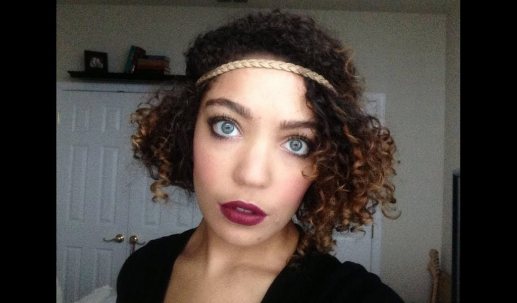 Poodesigns » Flapper Inspired Hairstyle On Naturally Curly Hair Regarding Flapper Girl Long Hairstyles (View 24 of 25)