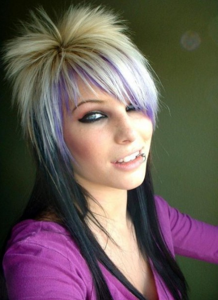 Popular Emo Hairstyles For Long Hair – Hairstyles Weekly Inside Long Hairstyles Emo (View 11 of 25)