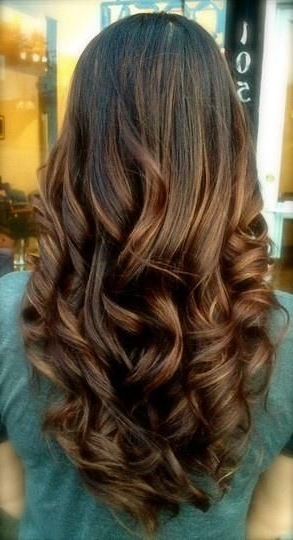 Pretty Curls – Hairstyles And Beauty Tips | Just Great Hair | Hair With Long Layered Brunette Hairstyles With Curled Ends (View 20 of 25)