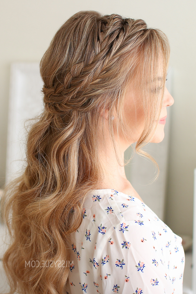Pretty Summer Hairstyles For Long Hair : Easy Braided Updos For Cute Braided Hairstyles For Long Hair (View 25 of 25)