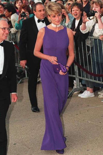 Princess Diana's Greatest Dresses – Fashion Photos | Glamour Uk Regarding Princess Like Side Prom Downdos (View 25 of 25)
