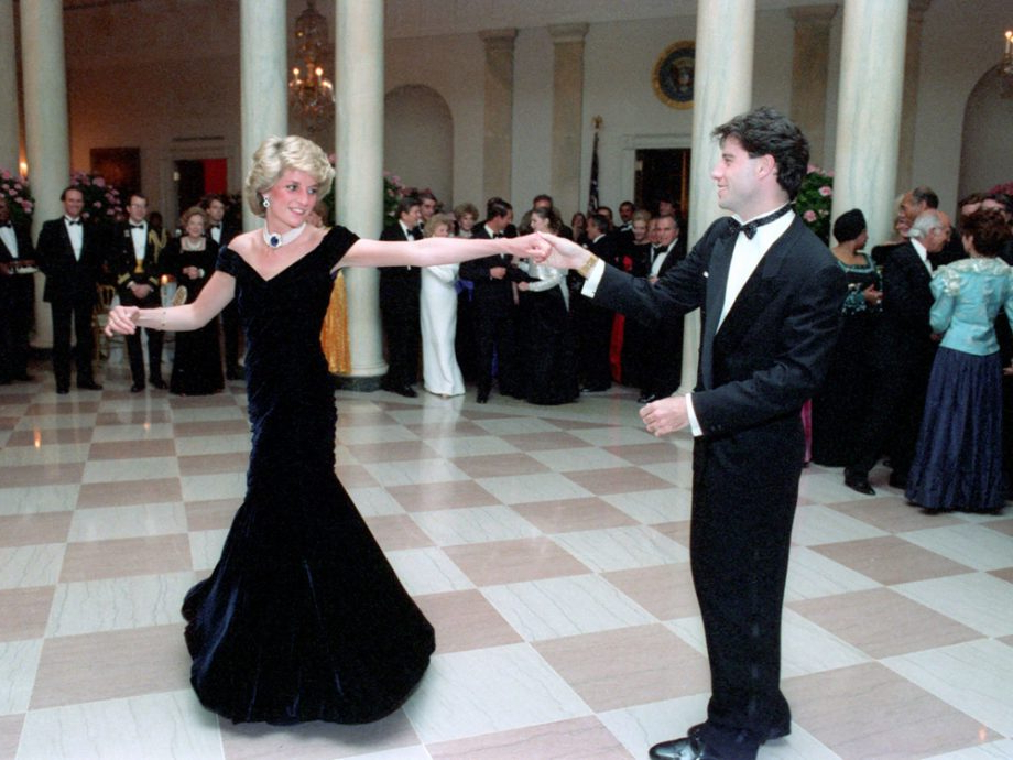 Princess Diana's Most Iconic Style Moments From Revenge Dress To Wedding Intended For Princess Like Side Prom Downdos (View 18 of 25)