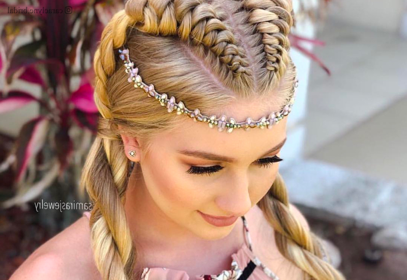 Princess Hairstyles: The 26 Most Charming Ideas For 2019 For Long Hairstyles For Balls (View 9 of 25)