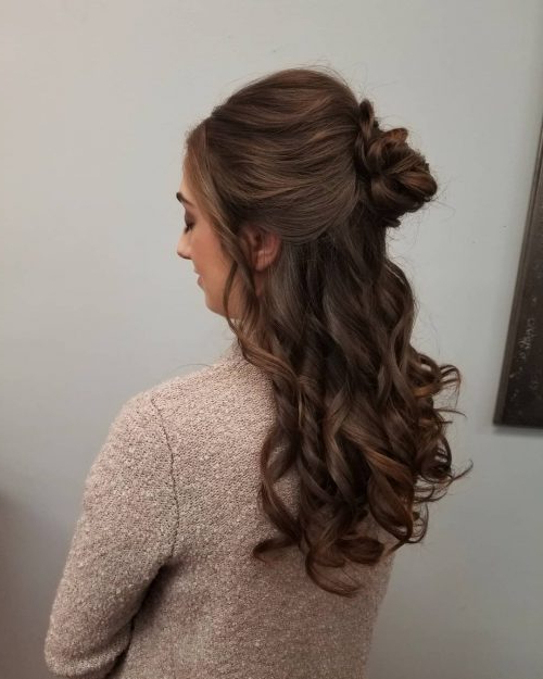 Princess Hairstyles: The 26 Most Charming Ideas For 2019 Inside Long Hairstyles For Balls (View 3 of 25)